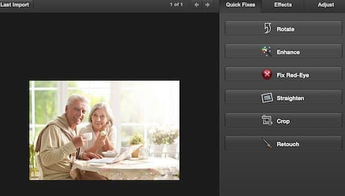 example of photo imaging software