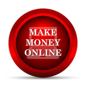 Make Money Online Red Action Button