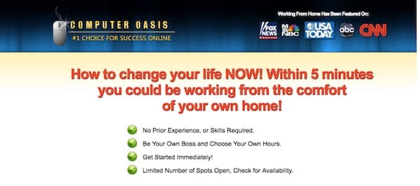 Make money from home inflated income claim