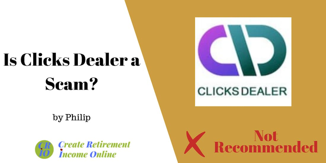 feature image for clicks dealer review showing company ogo