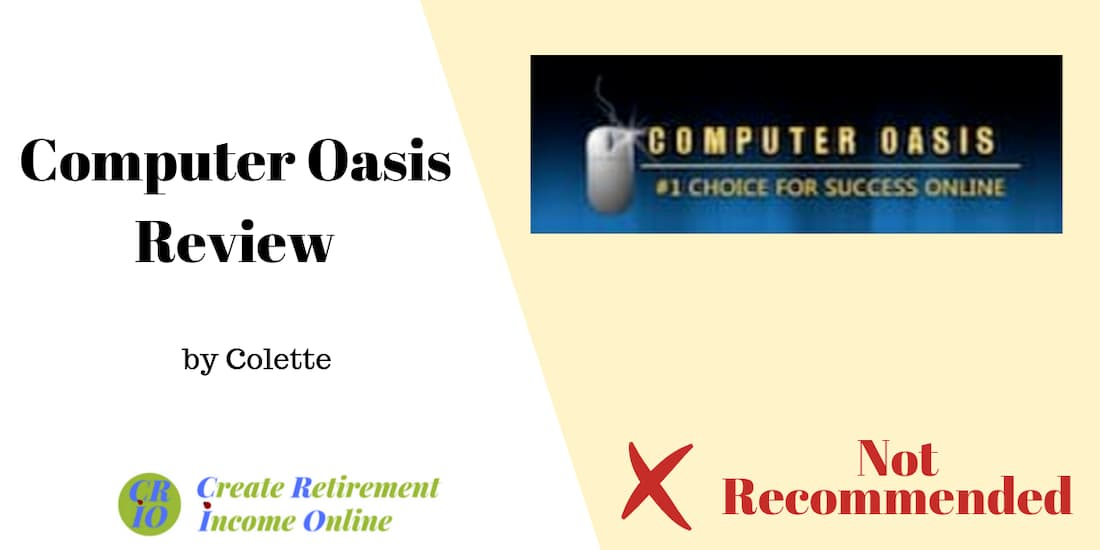 feature image for computer oasis review showing computer oasis logo