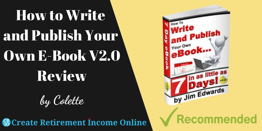 Featured Image for How to Write and Publish Your Own Ebook V2.0 Review Showing a Copy of the Course Book