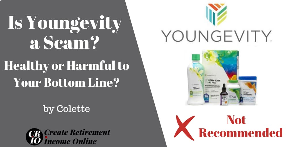 Is Youngevity a Scam Featured Image sShowing Company Logo and a selection of Products