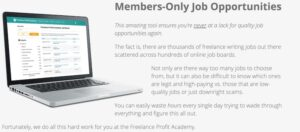 job feature for Freelance Profit Academy