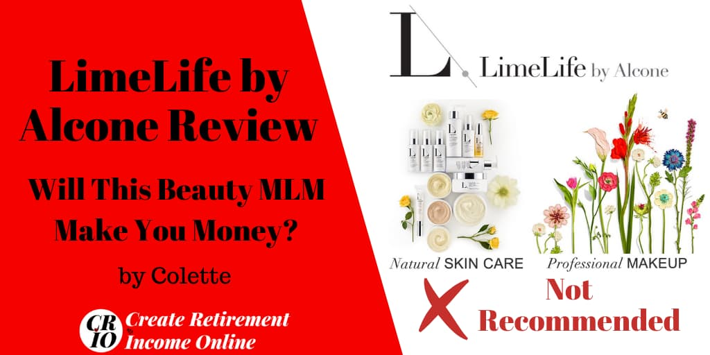 Feature Image for LimeLife by Alcone Review Showing Company Logo and Images of LimeLif'e Skincare and Makeup Product Lines