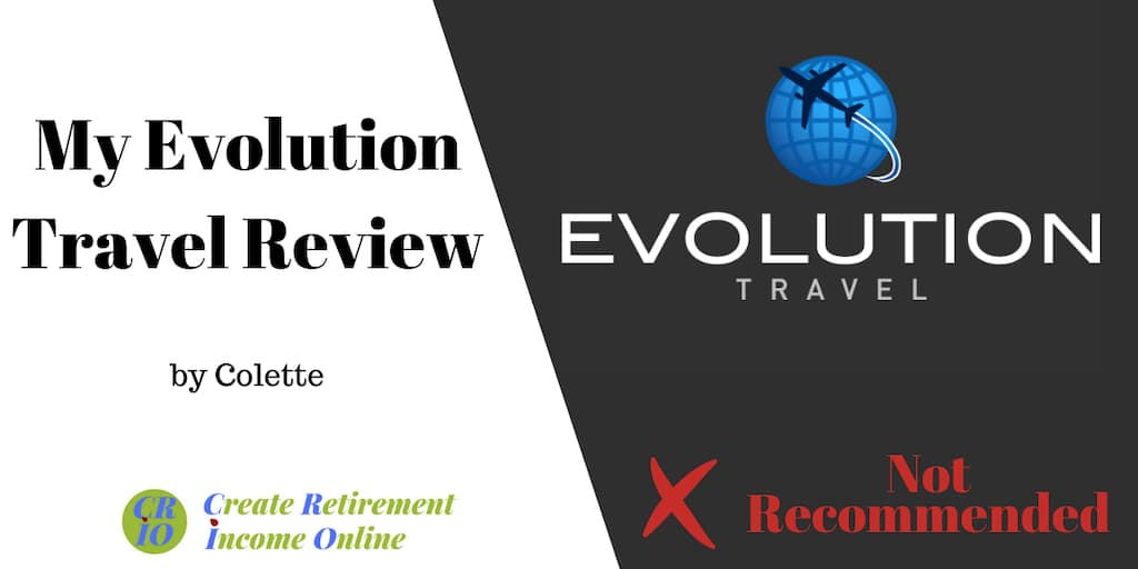 feature image for my evolution travel review showing company logo