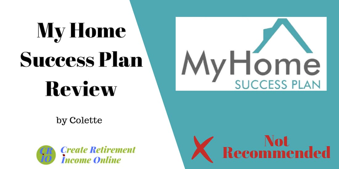 feature image for my home success plan review showing company logo