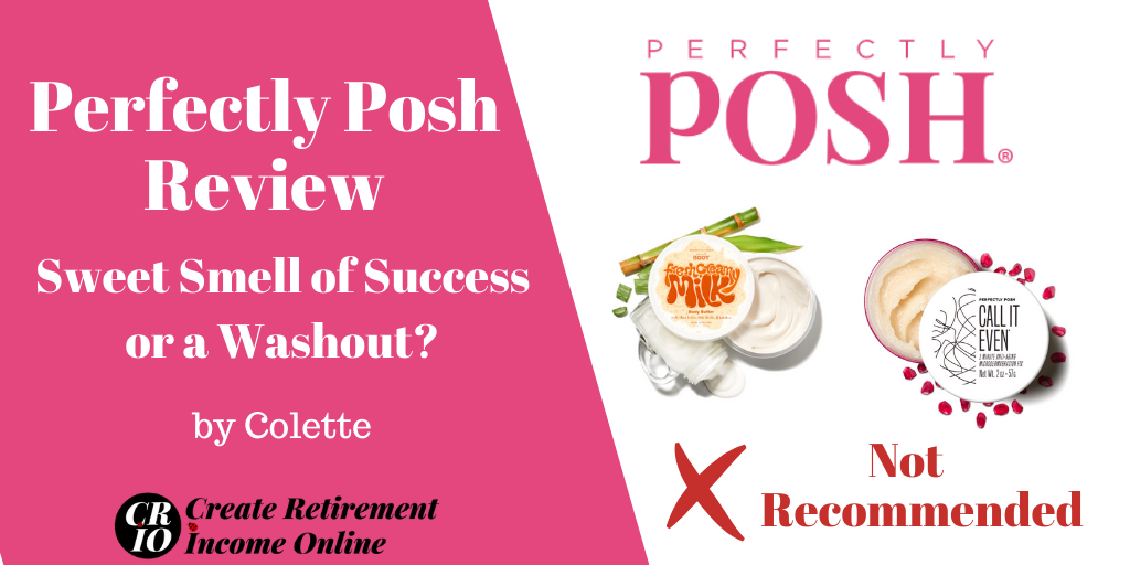 Featured Image for Perfectly Posh Review Showing Perfectly Posh Logo and Two Products