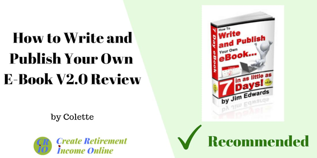 feature image for how to write and publish your own e-book showing product