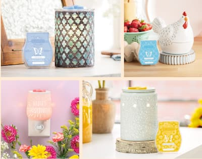 Scentsy Review Screenshot of products