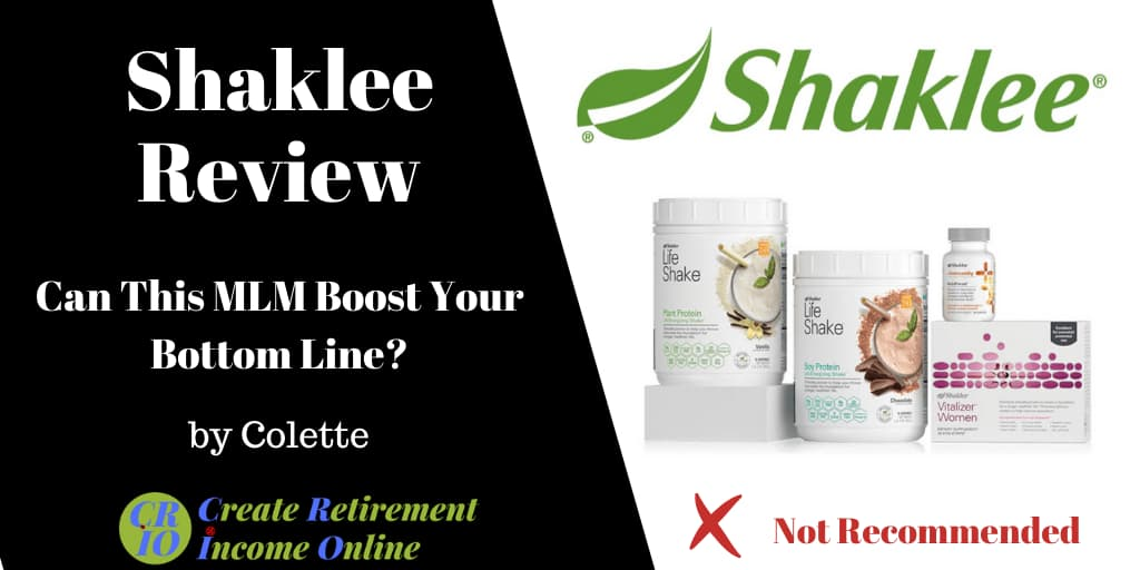 Featured Image for Shaklee Review Showing Shaklee Logo and a Selection of Shaklee Nutrition Products