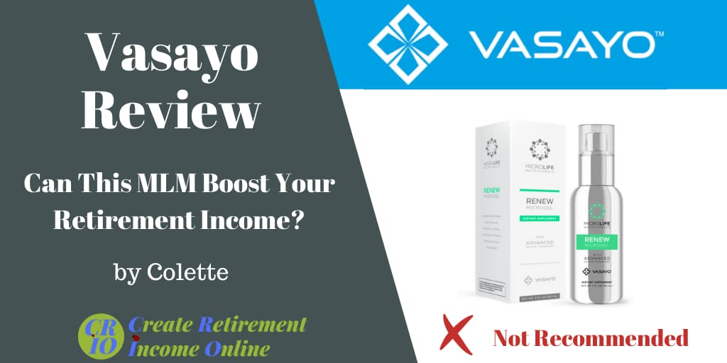Featured Image for Vasayo Review Showing Vasayo Logo and a Vasayo Product
