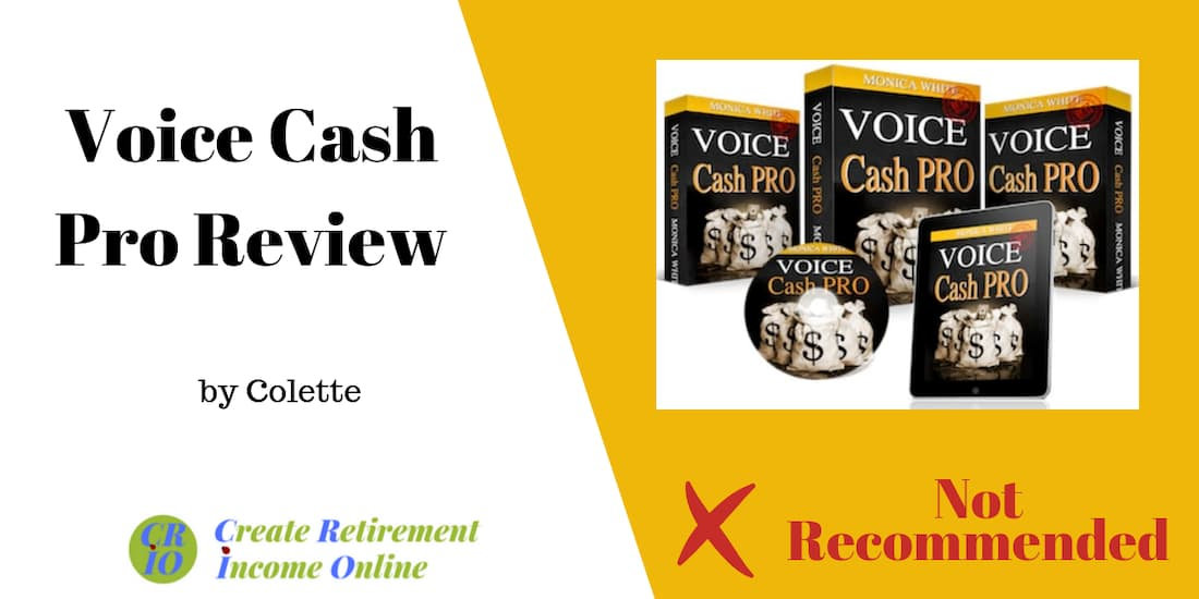 feature image for voice cash pro review showing product