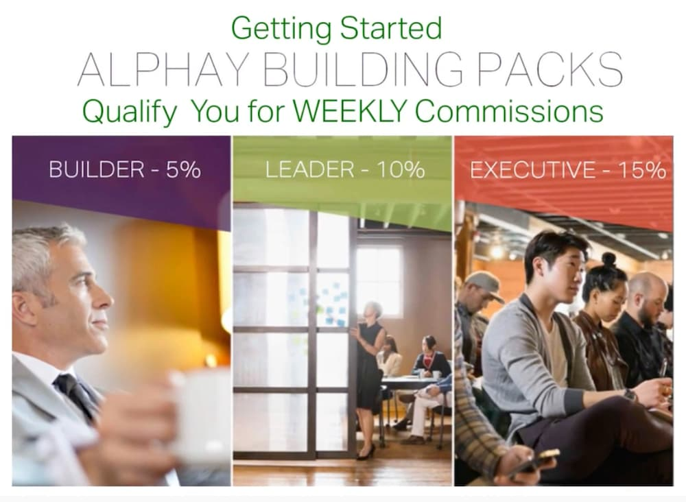 What is Alphay building packs image