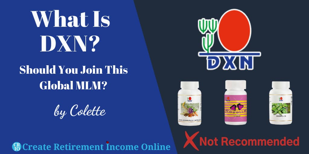 Featured Image for What is DXN Showing DXN Logo and a Selection of DXN Products