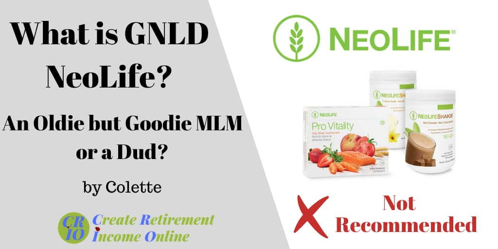 feature image for what is gnld neolife showing company logo and range of products